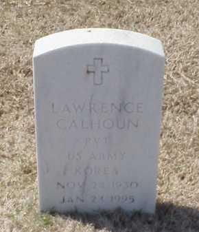 CALHOUN (VETERAN KOR), LAWRENCE - Pulaski County, Arkansas | LAWRENCE CALHOUN (VETERAN KOR) - Arkansas Gravestone Photos