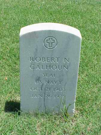 CALHOUN (VETERAN), ROBERT N - Pulaski County, Arkansas | ROBERT N CALHOUN (VETERAN) - Arkansas Gravestone Photos