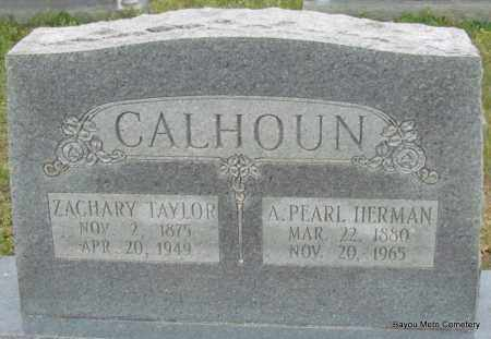 CALHOUN, A PEARL - Pulaski County, Arkansas | A PEARL CALHOUN - Arkansas Gravestone Photos