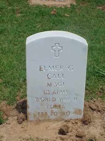 CALL (VETERAN 2 WARS), ELMER G - Pulaski County, Arkansas | ELMER G CALL (VETERAN 2 WARS) - Arkansas Gravestone Photos