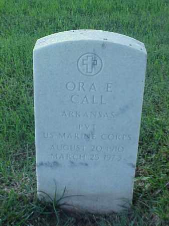 CALL (VETERAN), ORA E - Pulaski County, Arkansas   ORA E CALL (VETERAN) - Arkansas Gravestone Photos