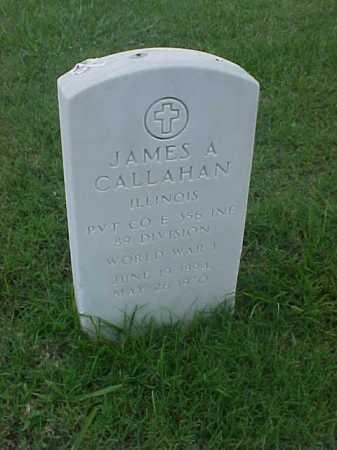 CALLAHAN (VETERAN WWI), JAMES A - Pulaski County, Arkansas | JAMES A CALLAHAN (VETERAN WWI) - Arkansas Gravestone Photos