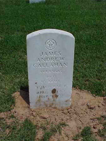 CALLAHAN (VETERAN WWII), JAMES ANDREW - Pulaski County, Arkansas | JAMES ANDREW CALLAHAN (VETERAN WWII) - Arkansas Gravestone Photos
