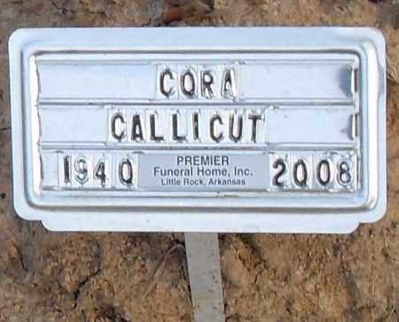 CALLICUTA, CORA - Pulaski County, Arkansas   CORA CALLICUTA - Arkansas Gravestone Photos
