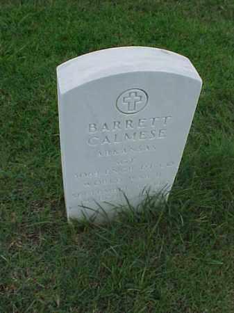 CALMESE (VETERAN WWII), BARRETT - Pulaski County, Arkansas   BARRETT CALMESE (VETERAN WWII) - Arkansas Gravestone Photos