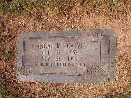 CALVIN, TANGAI M - Pulaski County, Arkansas   TANGAI M CALVIN - Arkansas Gravestone Photos