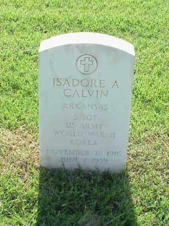 CALVIN (VETERAN 2 WARS), ISADORE A - Pulaski County, Arkansas | ISADORE A CALVIN (VETERAN 2 WARS) - Arkansas Gravestone Photos