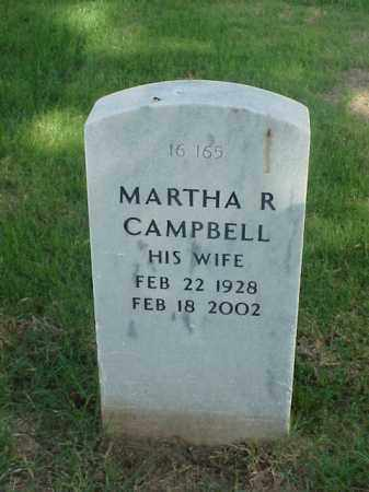 CAMPBELL, MARTHA R - Pulaski County, Arkansas | MARTHA R CAMPBELL - Arkansas Gravestone Photos