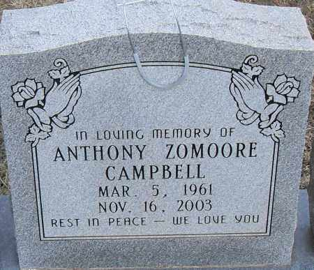 CAMPBELL, ANTHONY ZOMOORE - Pulaski County, Arkansas   ANTHONY ZOMOORE CAMPBELL - Arkansas Gravestone Photos