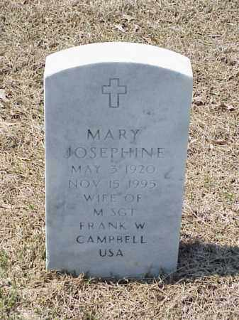 CAMPBELL, MARY JOSEPHINE - Pulaski County, Arkansas   MARY JOSEPHINE CAMPBELL - Arkansas Gravestone Photos