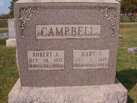 CAMPBELL, MARY C - Pulaski County, Arkansas | MARY C CAMPBELL - Arkansas Gravestone Photos