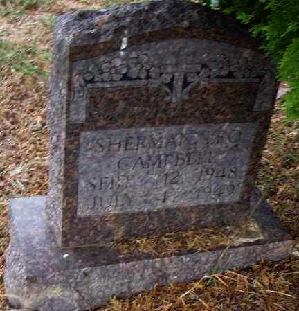 CAMPBELL, SHERMAN - Pulaski County, Arkansas | SHERMAN CAMPBELL - Arkansas Gravestone Photos
