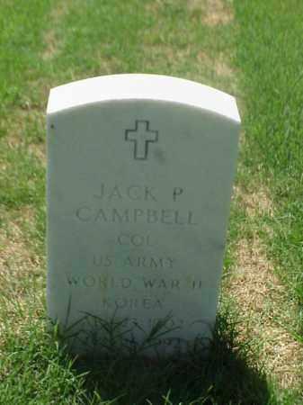 CAMPBELL (VETERAN 2 WARS), JACK P - Pulaski County, Arkansas | JACK P CAMPBELL (VETERAN 2 WARS) - Arkansas Gravestone Photos