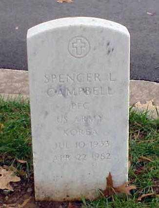 CAMPBELL (VETERAN KOR), SPENCER L - Pulaski County, Arkansas | SPENCER L CAMPBELL (VETERAN KOR) - Arkansas Gravestone Photos