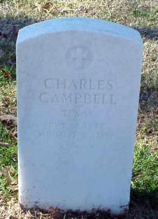 CAMPBELL (VETERAN UNION), CHARLES - Pulaski County, Arkansas   CHARLES CAMPBELL (VETERAN UNION) - Arkansas Gravestone Photos