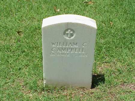 CAMPBELL (VETERAN UNION), WILLIAM C - Pulaski County, Arkansas | WILLIAM C CAMPBELL (VETERAN UNION) - Arkansas Gravestone Photos