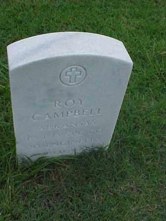 CAMPBELL (VETERAN WWI), ROY - Pulaski County, Arkansas | ROY CAMPBELL (VETERAN WWI) - Arkansas Gravestone Photos