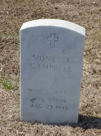 CAMPBELL (VETERAN WWI), SIDNEY L - Pulaski County, Arkansas | SIDNEY L CAMPBELL (VETERAN WWI) - Arkansas Gravestone Photos