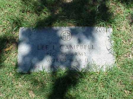 CAMPBELL (VETERAN WWII), LEE L - Pulaski County, Arkansas | LEE L CAMPBELL (VETERAN WWII) - Arkansas Gravestone Photos