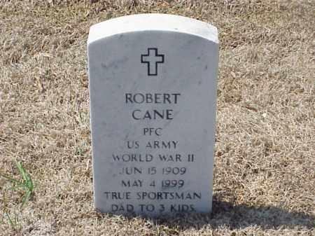 CANE (VETERAN WWII), ROBERT - Pulaski County, Arkansas | ROBERT CANE (VETERAN WWII) - Arkansas Gravestone Photos