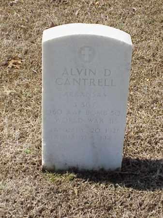 CANTRELL (VETERAN WWII), ALVIN D - Pulaski County, Arkansas | ALVIN D CANTRELL (VETERAN WWII) - Arkansas Gravestone Photos
