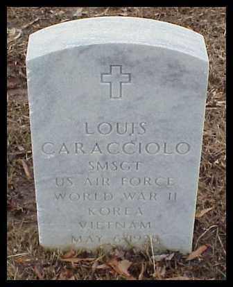 CARACCIOLO (VETERAN 3 WARS), LOUIS - Pulaski County, Arkansas   LOUIS CARACCIOLO (VETERAN 3 WARS) - Arkansas Gravestone Photos