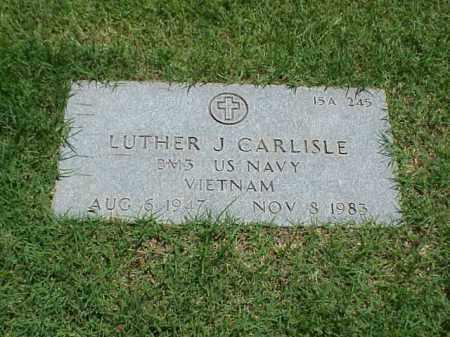 CARLISLE (VETERAN VIET), LUTHER J - Pulaski County, Arkansas | LUTHER J CARLISLE (VETERAN VIET) - Arkansas Gravestone Photos