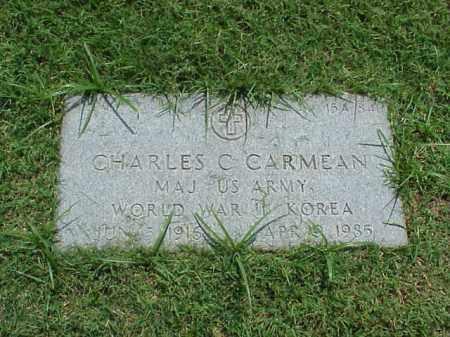 CARMEAN (VETERAN 2 WARS), CHARLES CARL - Pulaski County, Arkansas   CHARLES CARL CARMEAN (VETERAN 2 WARS) - Arkansas Gravestone Photos