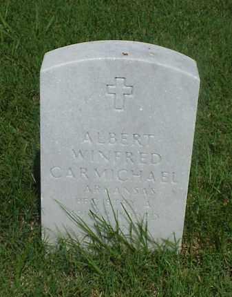 CARMICHAEL (VETERAN), ALBERT WINFRED - Pulaski County, Arkansas | ALBERT WINFRED CARMICHAEL (VETERAN) - Arkansas Gravestone Photos