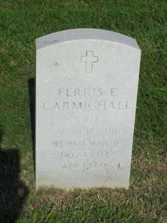 CARMICHAEL (VETERAN WWII), FERRIS E - Pulaski County, Arkansas   FERRIS E CARMICHAEL (VETERAN WWII) - Arkansas Gravestone Photos