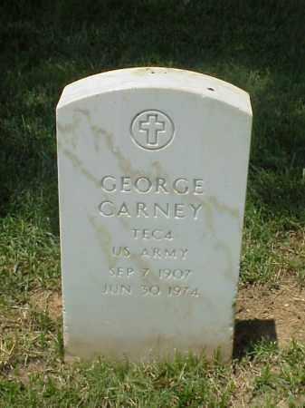 CARNEY (VETERAN), GEORGE - Pulaski County, Arkansas | GEORGE CARNEY (VETERAN) - Arkansas Gravestone Photos