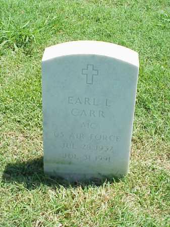 CARR (VETERAN), EARL L - Pulaski County, Arkansas | EARL L CARR (VETERAN) - Arkansas Gravestone Photos