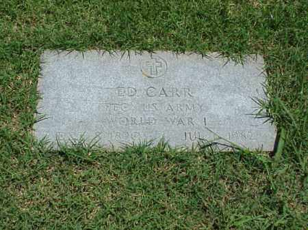 CARR (VETERAN WWI), ED - Pulaski County, Arkansas | ED CARR (VETERAN WWI) - Arkansas Gravestone Photos