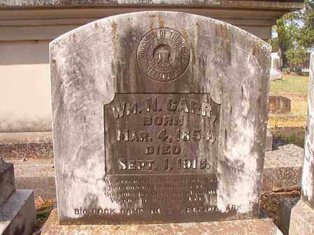 CARR, WILLIAM N - Pulaski County, Arkansas   WILLIAM N CARR - Arkansas Gravestone Photos