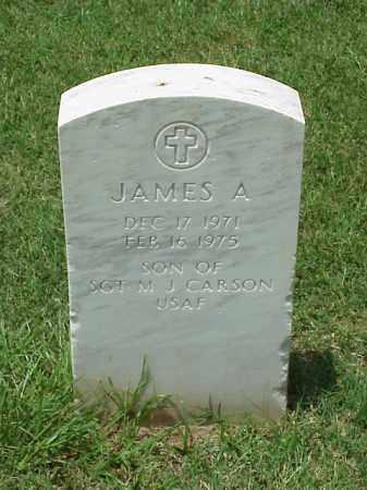 CARSON, JAMES A. - Pulaski County, Arkansas | JAMES A. CARSON - Arkansas Gravestone Photos