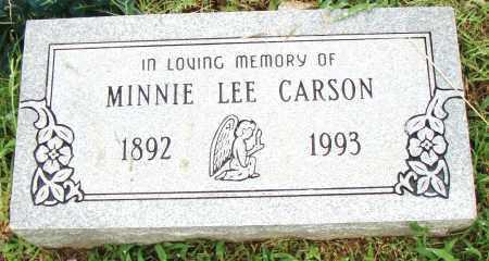 CARSON, MINNIE LEE - Pulaski County, Arkansas | MINNIE LEE CARSON - Arkansas Gravestone Photos
