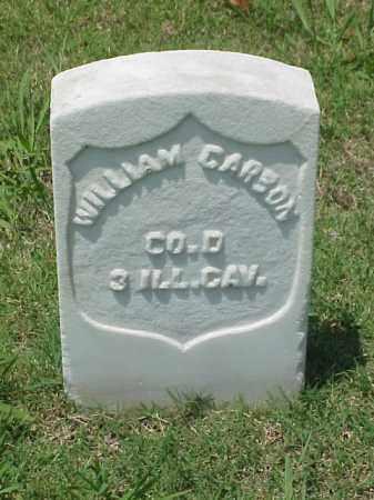 CARSON (VETERAN UNION), WILLIAM - Pulaski County, Arkansas | WILLIAM CARSON (VETERAN UNION) - Arkansas Gravestone Photos