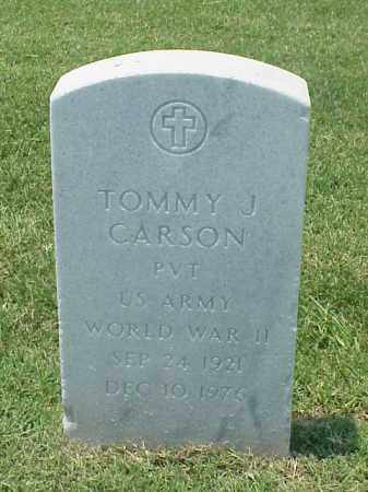 CARSON (VETERAN WWII), TOMMY J - Pulaski County, Arkansas | TOMMY J CARSON (VETERAN WWII) - Arkansas Gravestone Photos