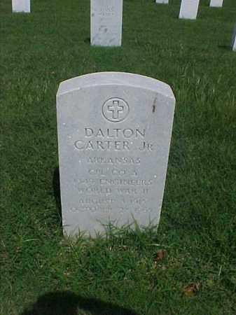 CARTER, JR (VETERAN WWII), DALTON - Pulaski County, Arkansas   DALTON CARTER, JR (VETERAN WWII) - Arkansas Gravestone Photos