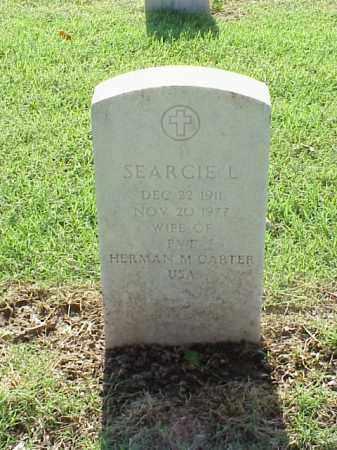 CARTER, SEARCIE L - Pulaski County, Arkansas   SEARCIE L CARTER - Arkansas Gravestone Photos