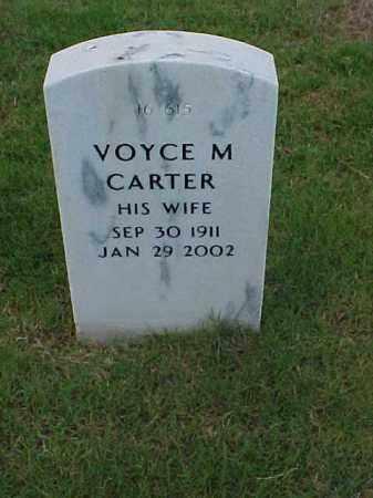 CARTER, VOYCE M - Pulaski County, Arkansas | VOYCE M CARTER - Arkansas Gravestone Photos