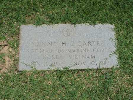 CARTER (VETERAN 2 WARS), KENNETH C - Pulaski County, Arkansas | KENNETH C CARTER (VETERAN 2 WARS) - Arkansas Gravestone Photos