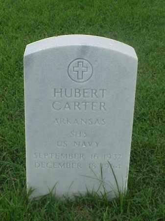 CARTER (VETERAN), HUBERT - Pulaski County, Arkansas   HUBERT CARTER (VETERAN) - Arkansas Gravestone Photos