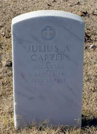 CARTER (VETERAN WWI), JULIUS A - Pulaski County, Arkansas   JULIUS A CARTER (VETERAN WWI) - Arkansas Gravestone Photos