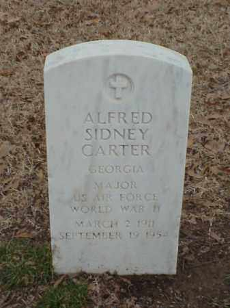 CARTER (VETERAN WWII), ALFRED SIDNEY - Pulaski County, Arkansas   ALFRED SIDNEY CARTER (VETERAN WWII) - Arkansas Gravestone Photos