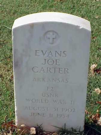 CARTER (VETERAN WWII), EVANS JOE - Pulaski County, Arkansas | EVANS JOE CARTER (VETERAN WWII) - Arkansas Gravestone Photos