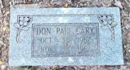 CARY, DON PAUL - Pulaski County, Arkansas | DON PAUL CARY - Arkansas Gravestone Photos