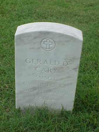 CARY (VETERAN  2 WARS), GERALD D - Pulaski County, Arkansas   GERALD D CARY (VETERAN  2 WARS) - Arkansas Gravestone Photos