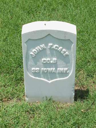 CASE (VETERAN UNION), JOHN F - Pulaski County, Arkansas | JOHN F CASE (VETERAN UNION) - Arkansas Gravestone Photos