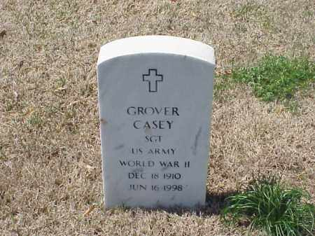 CASEY (VETERAN WWII), GROVER - Pulaski County, Arkansas   GROVER CASEY (VETERAN WWII) - Arkansas Gravestone Photos